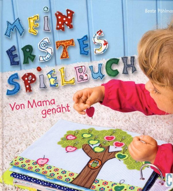 Mein erstes Spielbuch - von Mama genäht