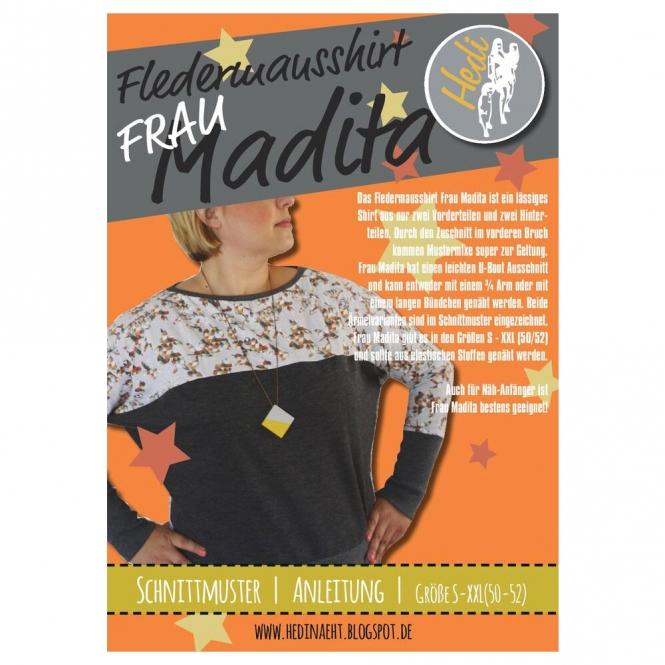 Hedi Papierschnittmuster Frau Madita