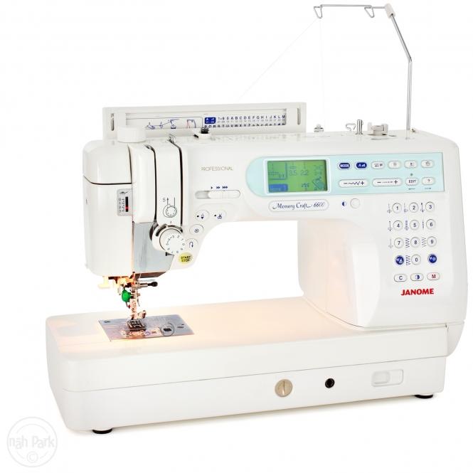 Janome Memory Craft 6600 Ausstellungsmaschine