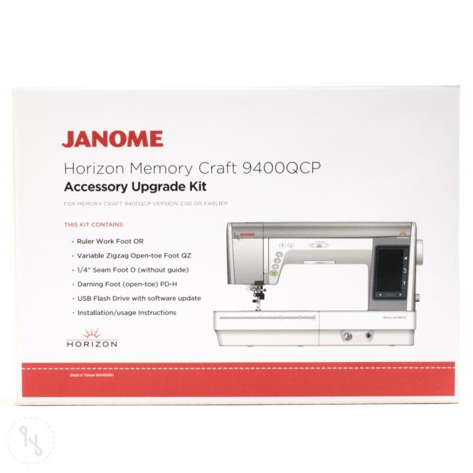 JANOME Upgrade-Kit für Memory Craft 9400 QCP