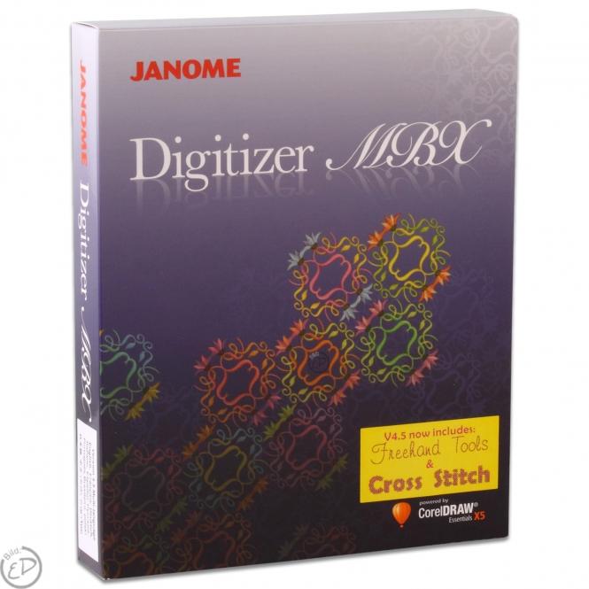 Janome Digitizer Pro V4.5 MBX