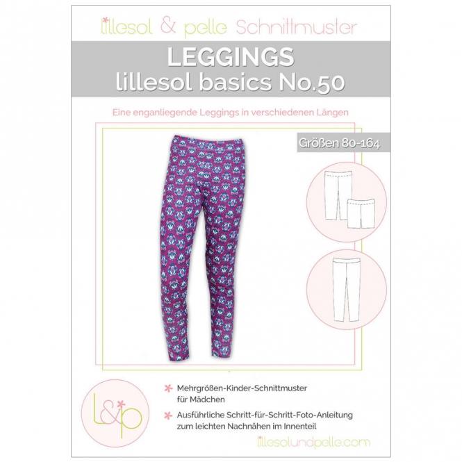 Lillesol Basics Papierschnittmuster No.50 Leggings