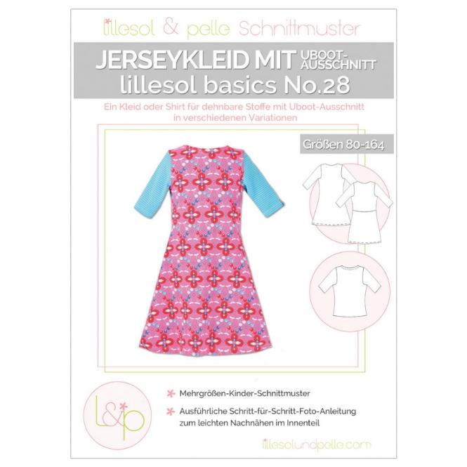 Lillesol Basics Papierschnittmuster No.28 Jerseykleid