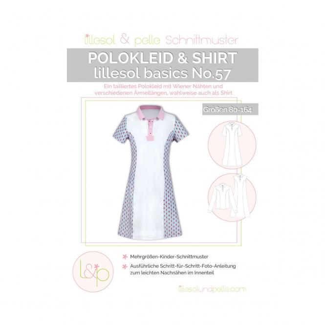 Lillesol Basics Papierschnittmuster No.57 Polokleid & -shirt