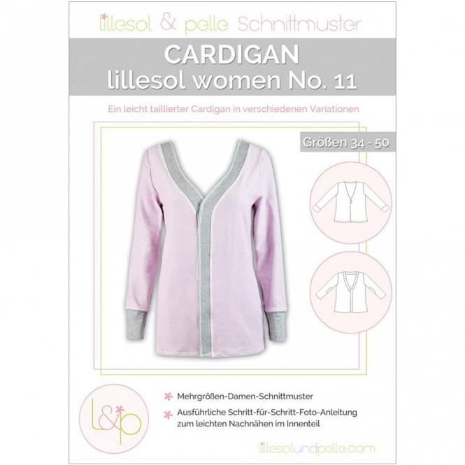 Lillesol Women Papierschnittmuster No.11 Cardigan