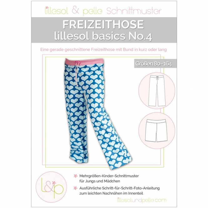 Lillesol Basics Papierschnittmuster No.4 Freizeithose