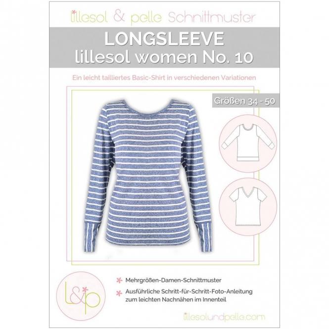 Lillesol Women Papierschnittmuster No.10 Longsleeve