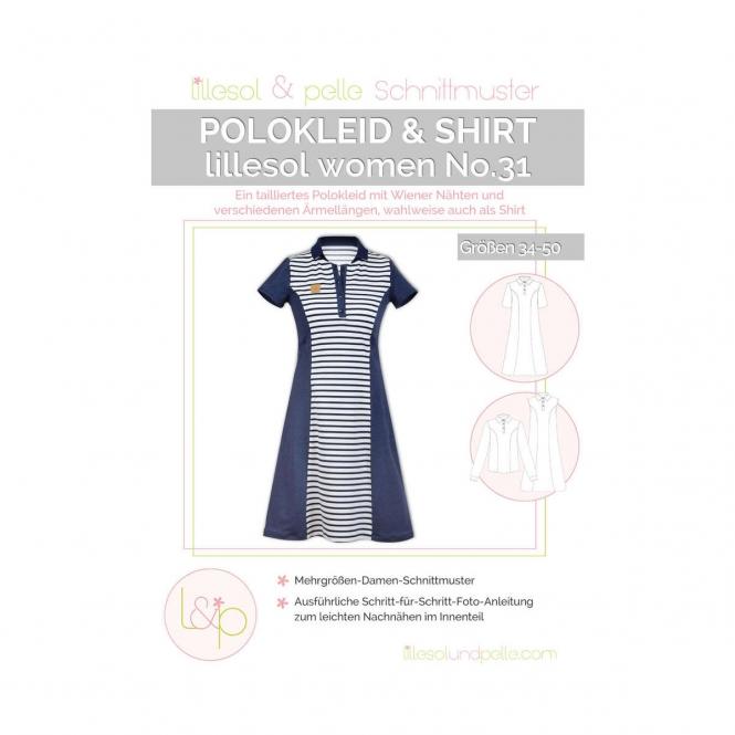Lillesol Women Papierschnittmuster No.31 Polokleid & -shirt