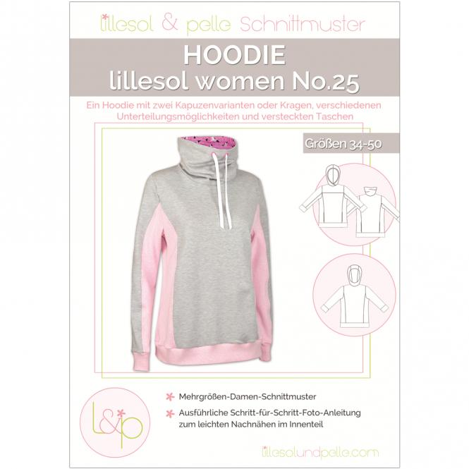 Lillesol Women Papierschnittmuster No.25 Hoodie