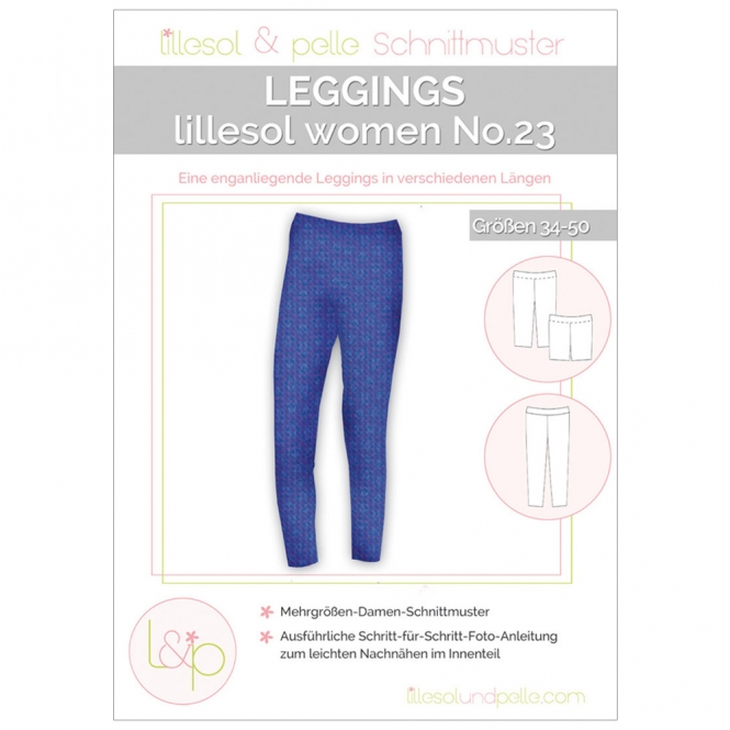 Lillesol Women Papierschnittmuster No.23 Leggings