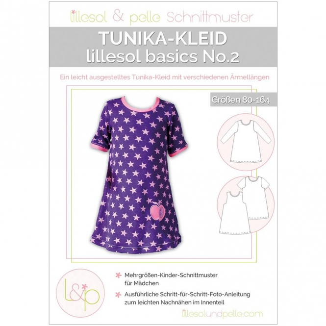 Lillesol Basics Papierschnittmuster No.2 Tunika-Kleid