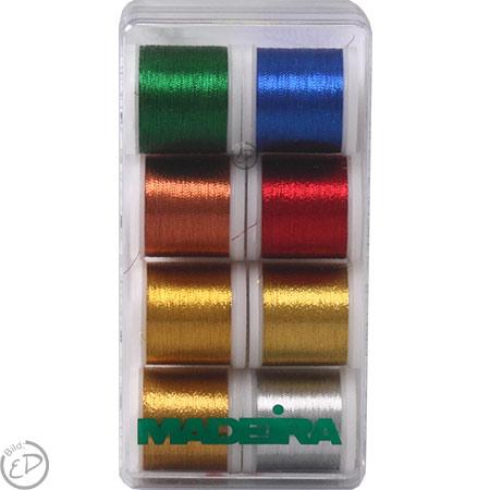 Madeira Stickbox Metallic Classic 8 Spulen 200m