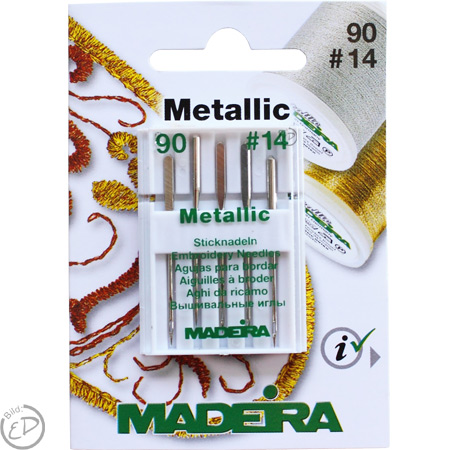 Madeira Sticknadel No. 90 Metallic