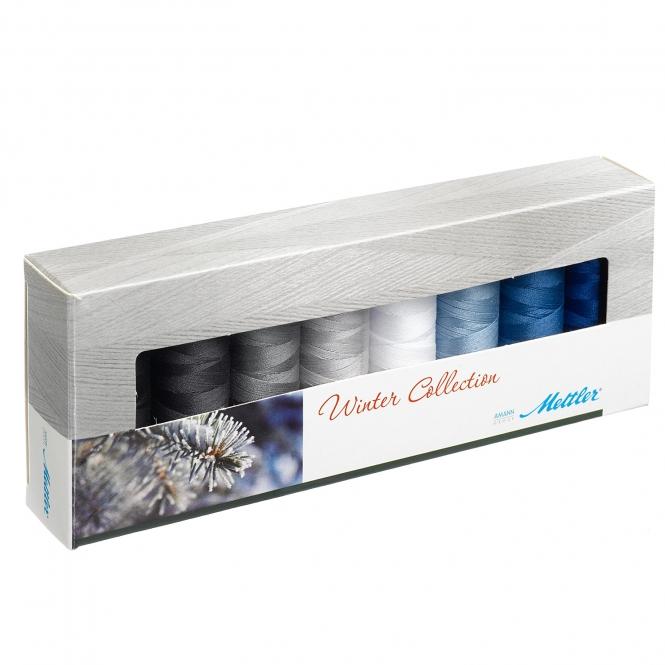 Mettler Farbkit Silk Finish Cotton Winter