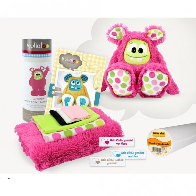"Kullaloo Materialset ""MemoMonsti"" pink"