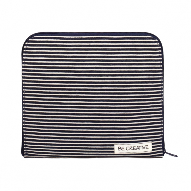 Prym Crafter's Clutch Denim & Stripes