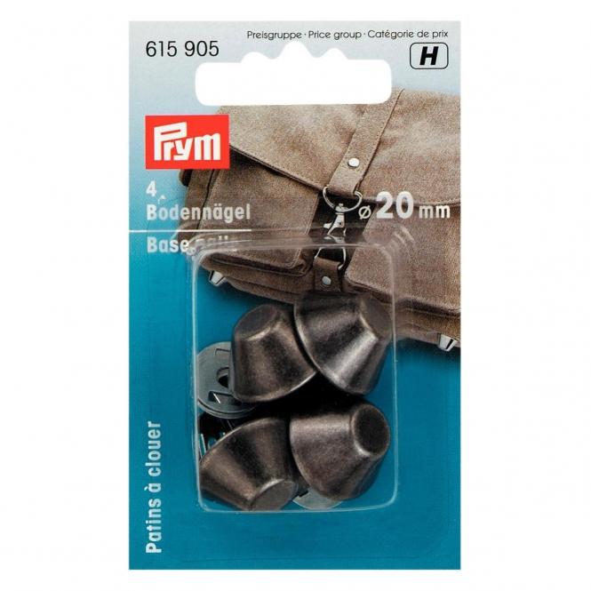 Prym Bodennägel für Taschen 20mm altsilber