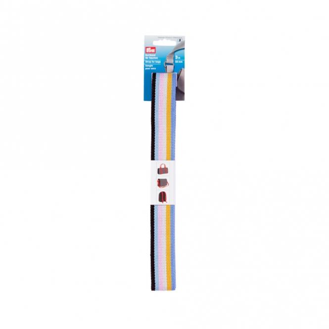 Prym Gurtband 30mm blau/multi
