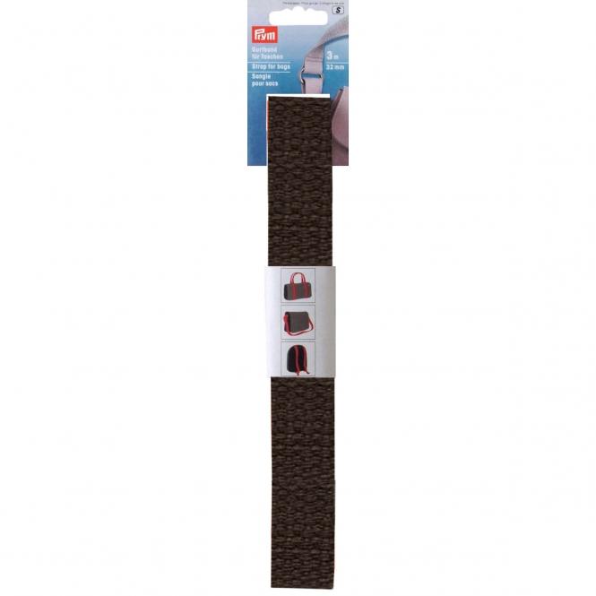 Prym Gurtband dunkelbraun