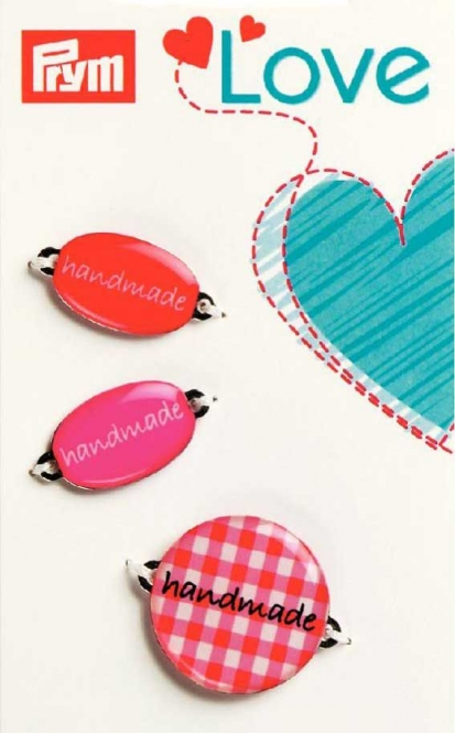 Prym handmade Label-Set rot