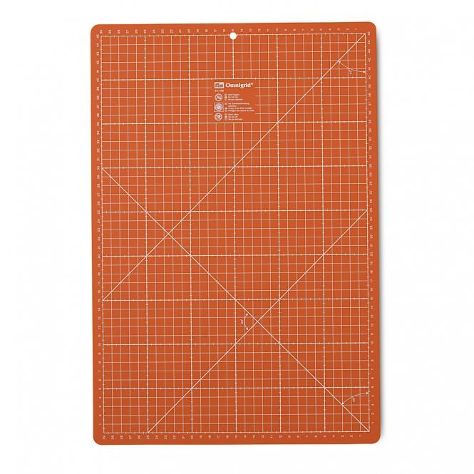 Prym Rollschneideunterlage 30 x 45 cm orange