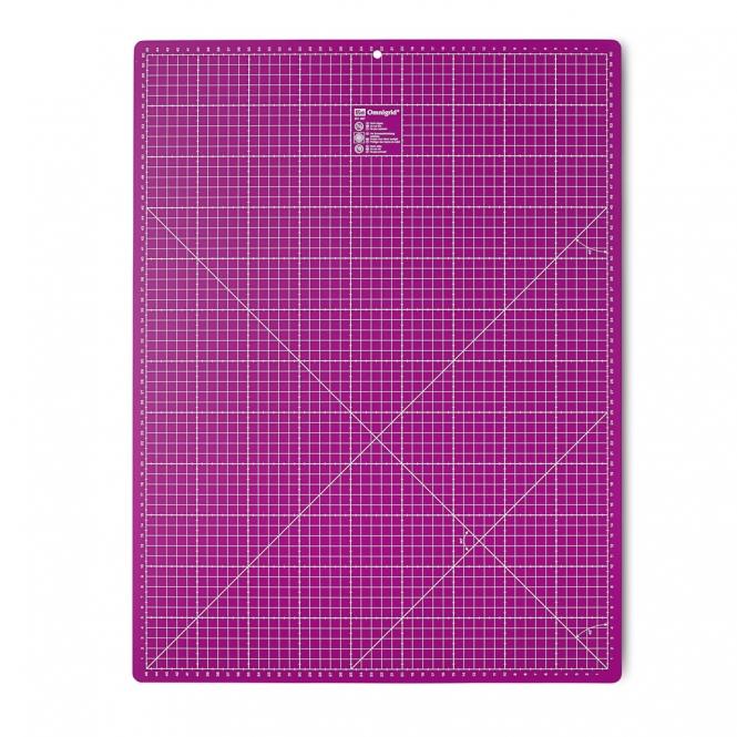 Prym Rollschneideunterlage 45 x 60 cm pink