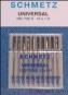 SCHMETZ Universal Nadeln 10er Pack Stärke 60