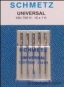 SCHMETZ Universal Nadeln 5er Pack sortiert 70 bis 90