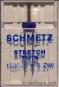 SCHMETZ Zwillingsnadeln Stretch Stärke 75, Breite 2,5mm
