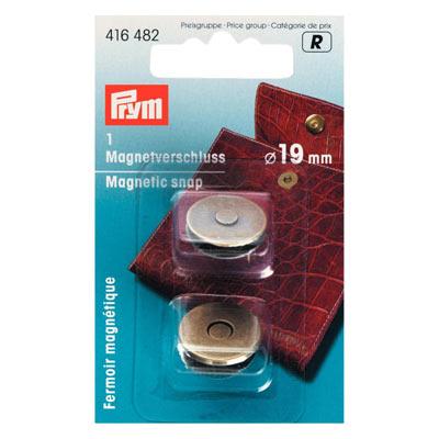 PRYM Magnet Verschluß Altmessing