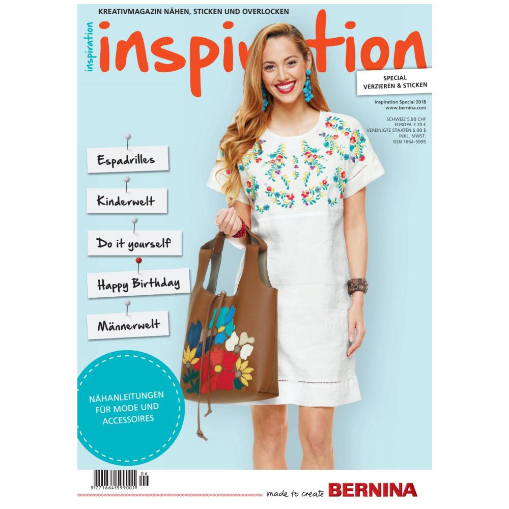 BERNINA Inspiration Special Sommer 2018