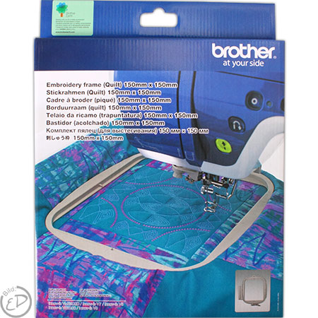 BROTHER Stickrahmen Quilt 150 x 150 mm
