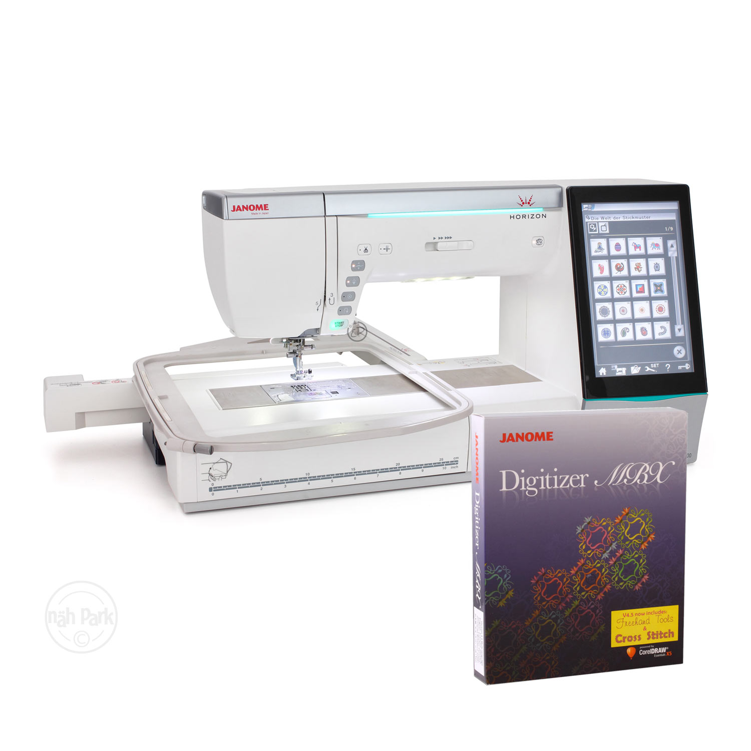 Janome Horizon MC 15000 Version 2 inkl. MBX-Software 4.5