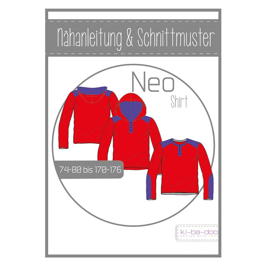KI-BA-DOO Papierschnittmuster Shirt Neo