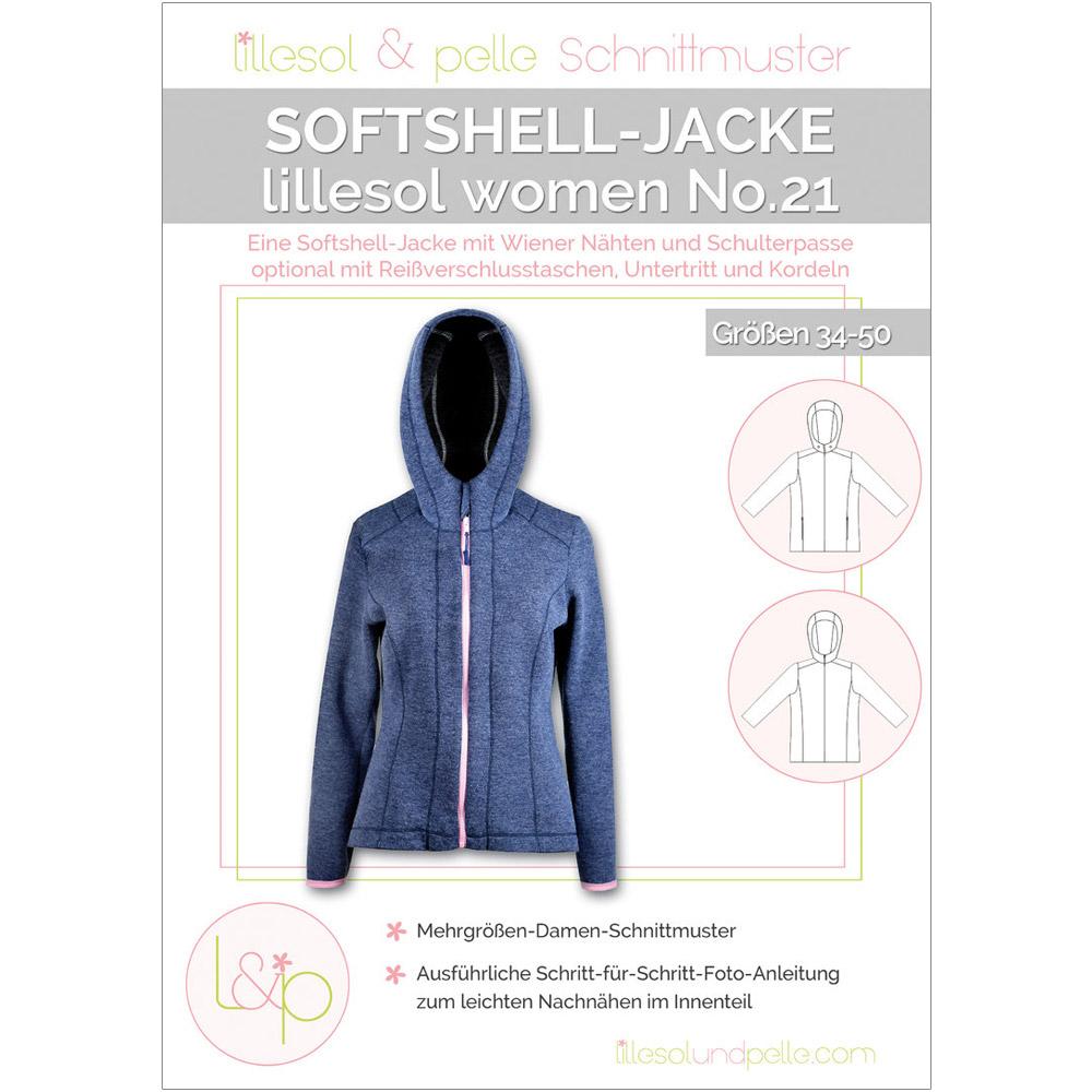 LILLESOL Women Papierschnittmuster No.21 Softshelljacke
