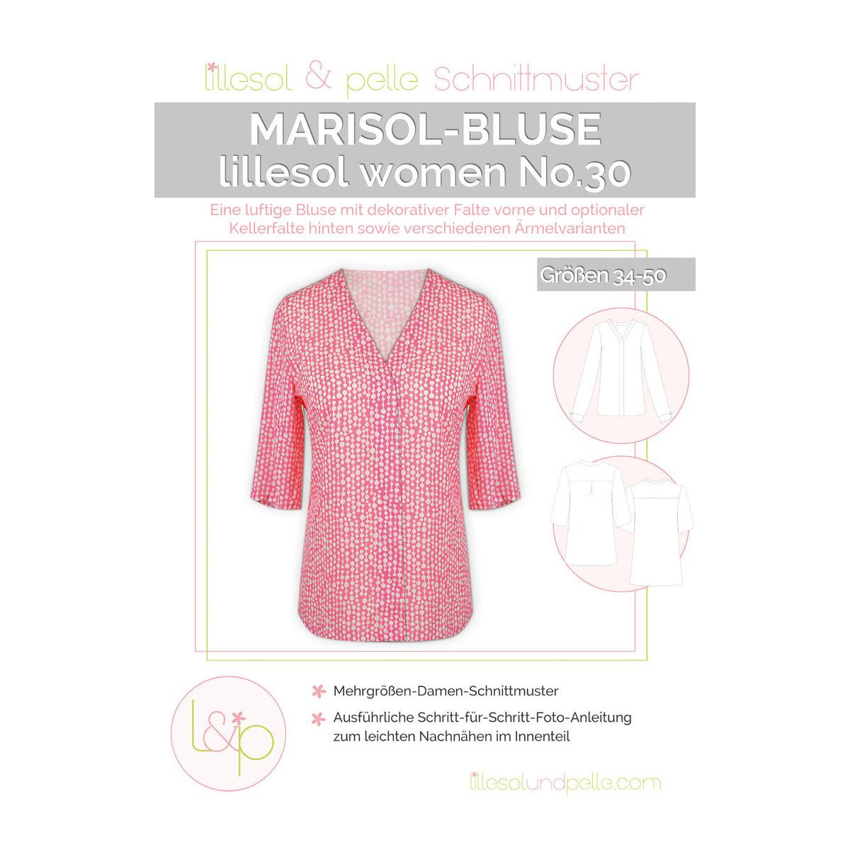 LILLESOL Women Papierschnittmuster No.30 Marisol-Bluse