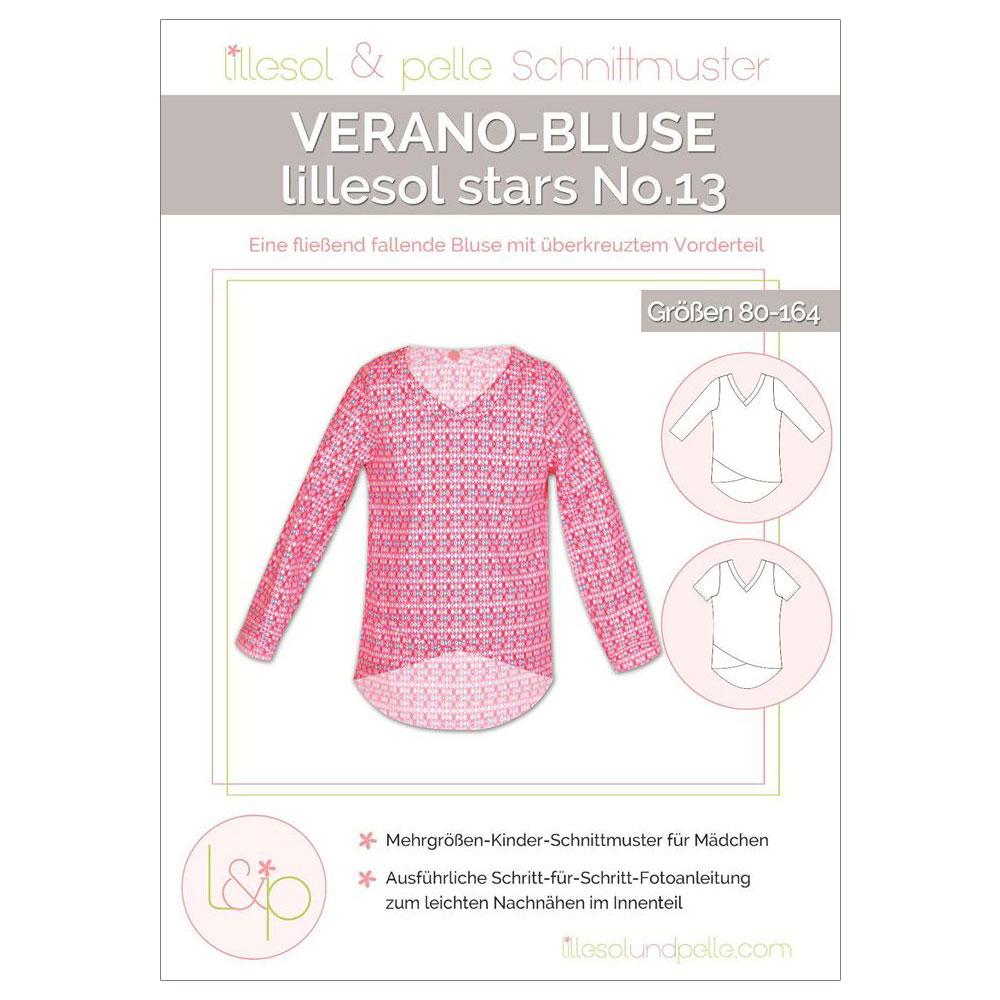 LILLESOL Stars Papierschnittmuster No.13 Verano-Bluse