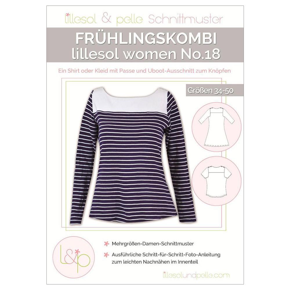 LILLESOL Women Papierschnittmuster No.18 Frühlingskombi