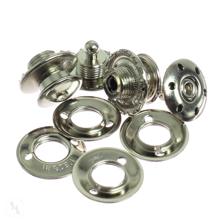 LOXX Knöpfe aus Metall 2 Stück
