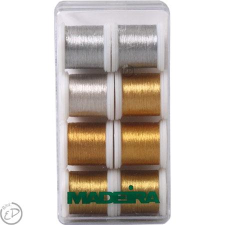 MADEIRA Stickbox Heavy Metal 8 Spulen 100m