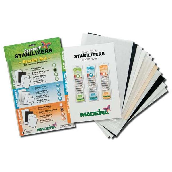 MADEIRA Starter Set für Stickvliese
