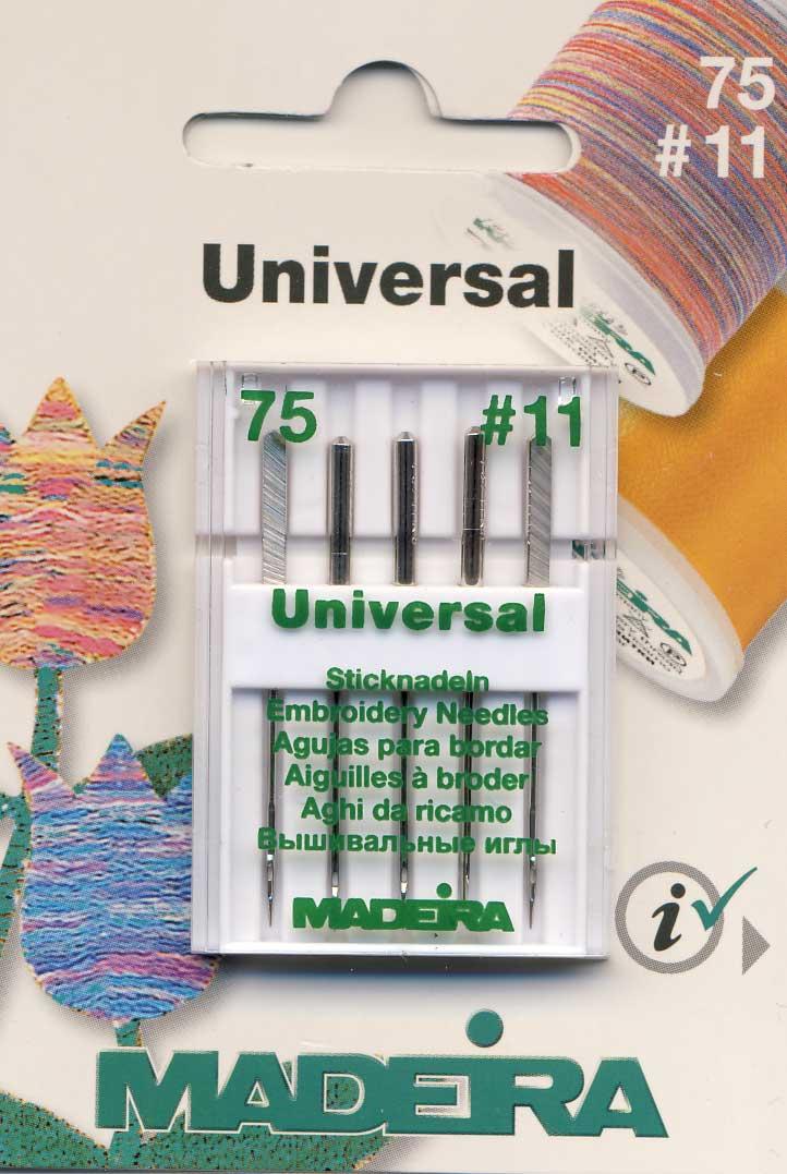 MADEIRA Sticknadel No. 75 Rayon