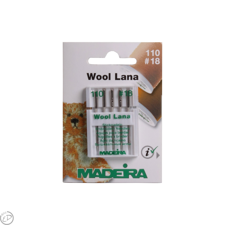MADEIRA Sticknadeln Lana No. 110