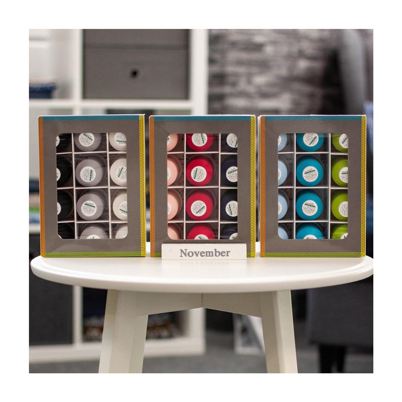 Set MADEIRA Overlockbox Farbsortierung 1 bis 3