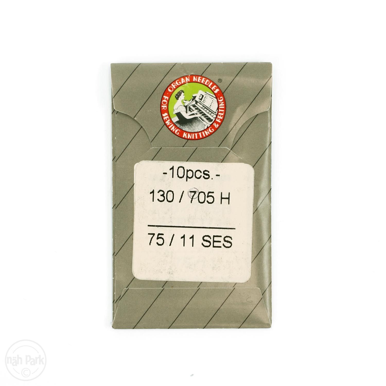 ORGAN Maschinen-Sticknadeln St. 75 SES 10er Packung