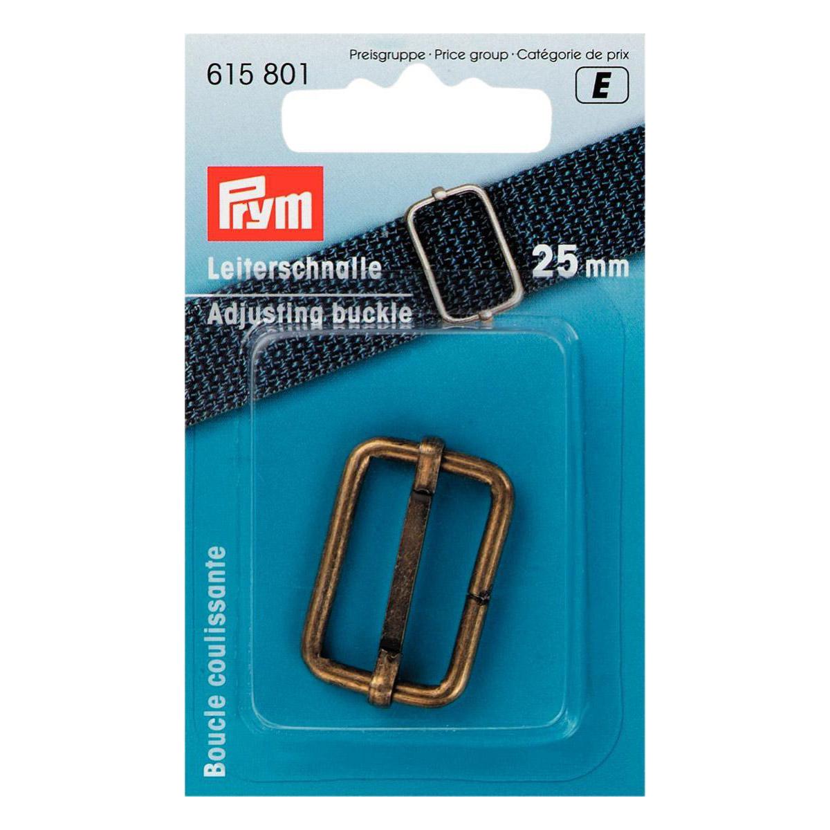 PRYM Leiterschnalle 25mm altmessing