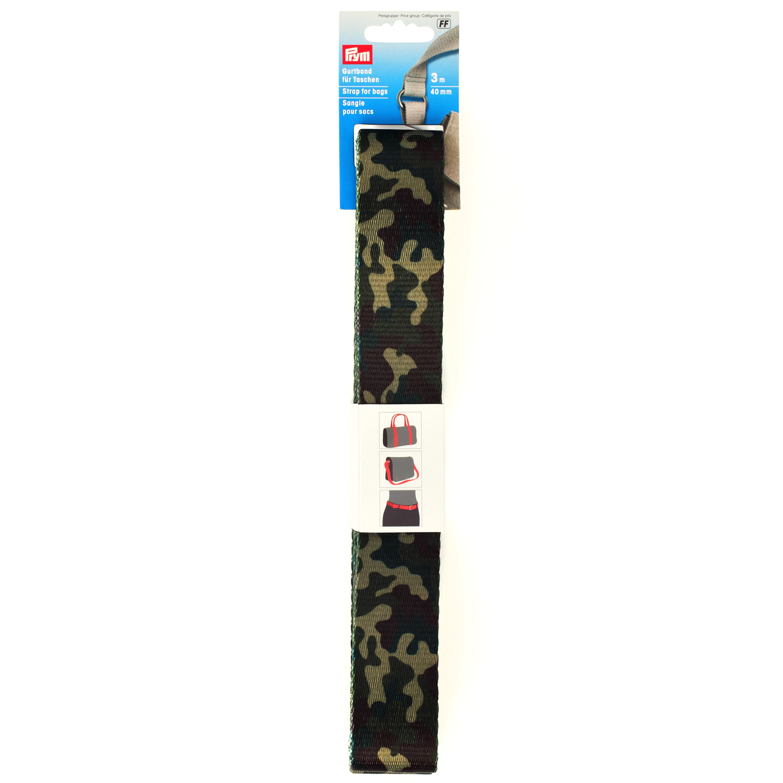 PRYM Gurtband 40mm camouflage
