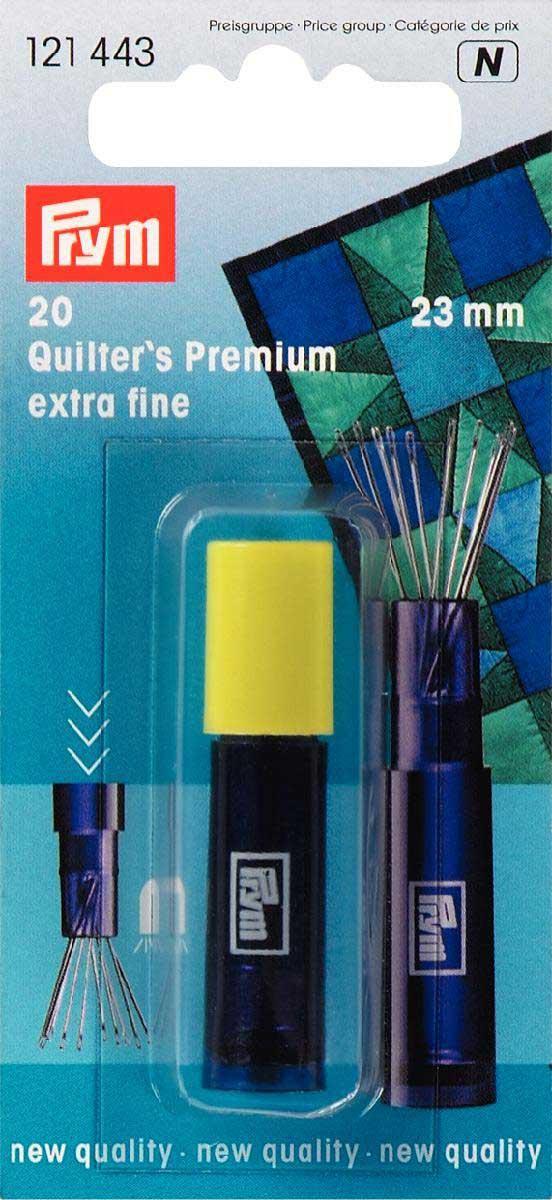 PRYM Quilting-Nähnadeln 23mm
