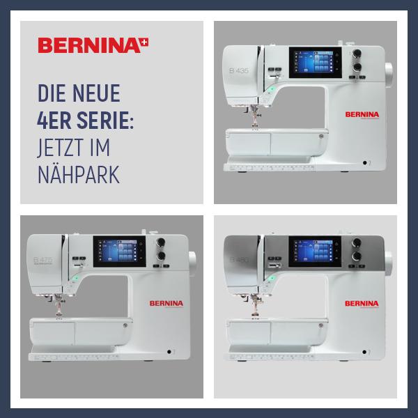 Neue Bernina 4er Serie xs+sm
