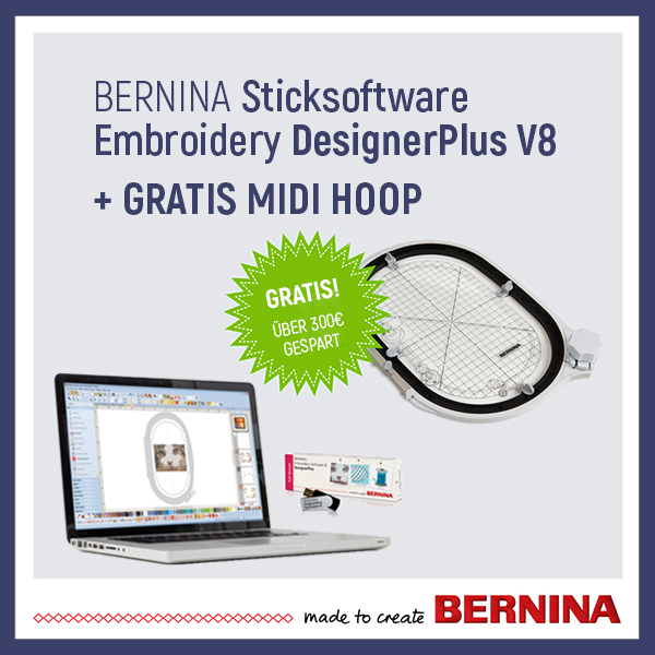 5 Bernina Sticksoftware + Hoop xs+sm